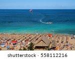 resort golden sands bulgaria... | Shutterstock . vector #558112216