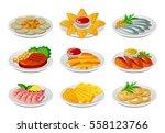 snack set | Shutterstock .eps vector #558123766
