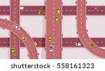 vector color flat illustration... | Shutterstock .eps vector #558161323