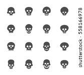 Skull Icon Set