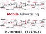 mobile advertising....   Shutterstock .eps vector #558178168