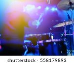 abstract blurred image. actor... | Shutterstock . vector #558179893