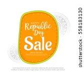 creative sale banner or sale... | Shutterstock .eps vector #558183130