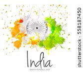 illustration of happy indian... | Shutterstock .eps vector #558187450