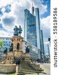 frankfurt am main  germany  ... | Shutterstock . vector #558189586