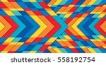 rainbow texture  bright... | Shutterstock .eps vector #558192754