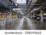 underground parking | Shutterstock . vector #558193663