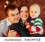 the father and mother ... | Shutterstock . vector #558199768