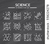 doodle vector icons set of...   Shutterstock .eps vector #558224278