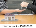 banks approve loans to buy... | Shutterstock . vector #558230320