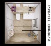 3d illustration of interior...   Shutterstock . vector #558246529