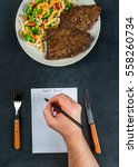 Concept Of Dieting  Counting...