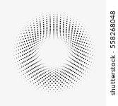 modern abstract illustration... | Shutterstock .eps vector #558268048