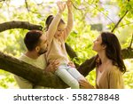 family  parenthood  adoption... | Shutterstock . vector #558278848