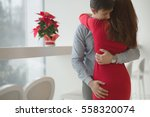 valentine's day concept. a... | Shutterstock . vector #558320074