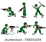vector illustration of a six... | Shutterstock .eps vector #558351034
