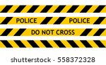 seamless tape fencing police... | Shutterstock .eps vector #558372328