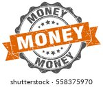 money. stamp. sticker. seal.... | Shutterstock .eps vector #558375970