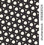 vector seamless pattern. modern ... | Shutterstock .eps vector #558383524