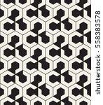 vector seamless pattern. modern ... | Shutterstock .eps vector #558383578