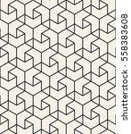 vector seamless pattern. modern ... | Shutterstock .eps vector #558383608