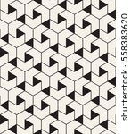vector seamless pattern. modern ... | Shutterstock .eps vector #558383620