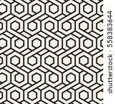 vector seamless pattern. modern ... | Shutterstock .eps vector #558383644