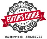 editor's choice. stamp. sticker.... | Shutterstock .eps vector #558388288