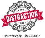 distraction. stamp. sticker.... | Shutterstock .eps vector #558388384