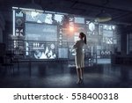 high technologies for your... | Shutterstock . vector #558400318