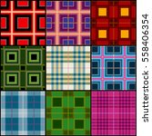 classic tartan  british... | Shutterstock .eps vector #558406354