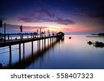 jetty | Shutterstock . vector #558407323