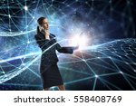 technologies that impress .... | Shutterstock . vector #558408769
