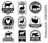Farm Animal Vintage Meat ...