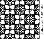 christian geometric pattern... | Shutterstock .eps vector #558413368