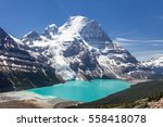 panoramic view of mt robson... | Shutterstock . vector #558418078