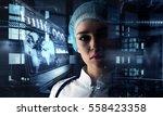 innovative technologies in... | Shutterstock . vector #558423358