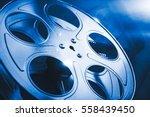 35 Mm Film Reel With Dramatic...