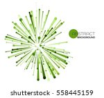 vector abstract explosion lines....   Shutterstock .eps vector #558445159