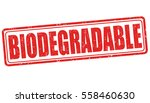 biodegradable grunge rubber... | Shutterstock .eps vector #558460630