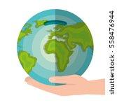 global economy world savings | Shutterstock .eps vector #558476944