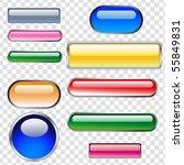 buttons | Shutterstock .eps vector #55849831