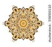 pattern for wedding card... | Shutterstock . vector #558503110