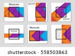 abstract vector layout...   Shutterstock .eps vector #558503863