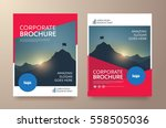poster flyer pamphlet brochure... | Shutterstock .eps vector #558505036
