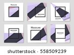 abstract vector layout... | Shutterstock .eps vector #558509239