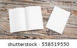 blank catalog  magazines book... | Shutterstock . vector #558519550