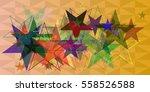 star texture elements   Shutterstock .eps vector #558526588