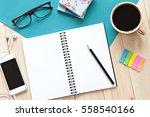 still life  business  office... | Shutterstock . vector #558540166
