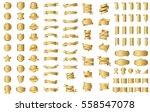 gold label ribbon banner vector ...   Shutterstock .eps vector #558547078